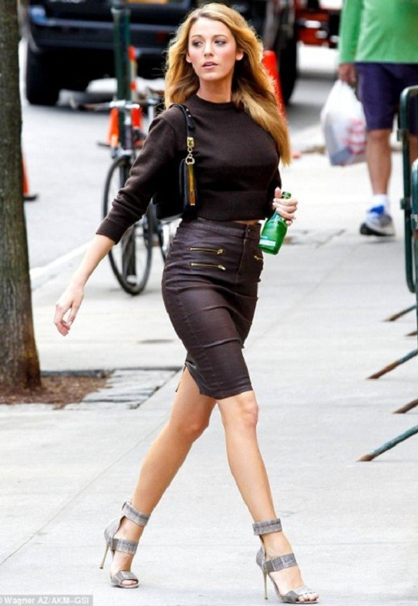 Celebrity Style Watch Blake Lively City Girl Savings