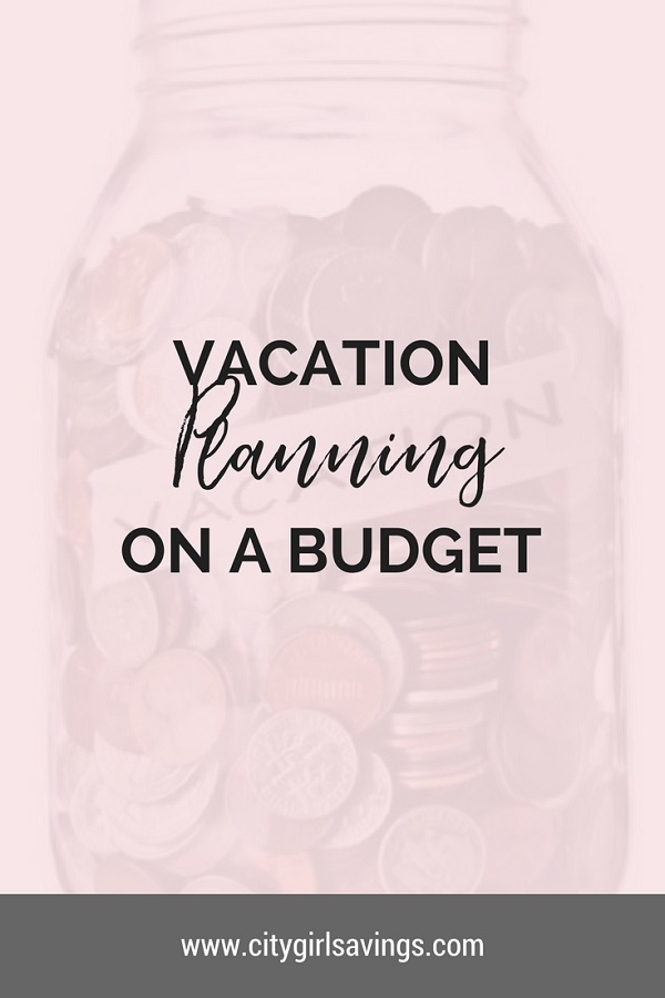 vacation planning on a budget
