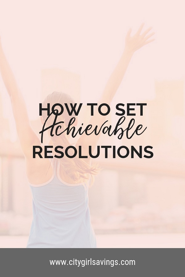 set achievable resolutions