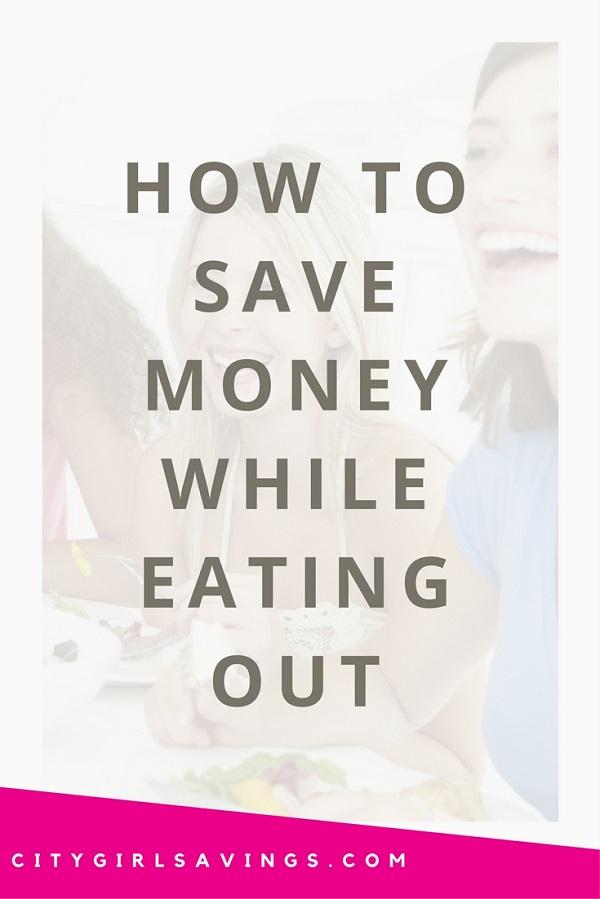 Kako prihraniti denar, medtem ko Eating Out City Girl varčevanja-3765