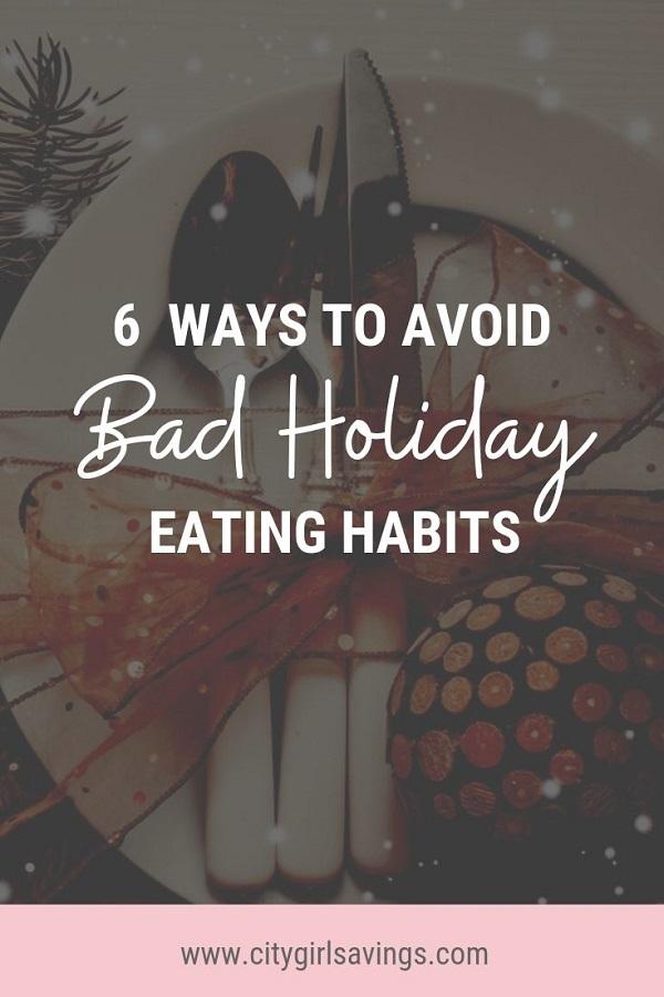 bad holiday eating habits