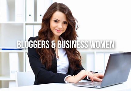 bloggers, business women
