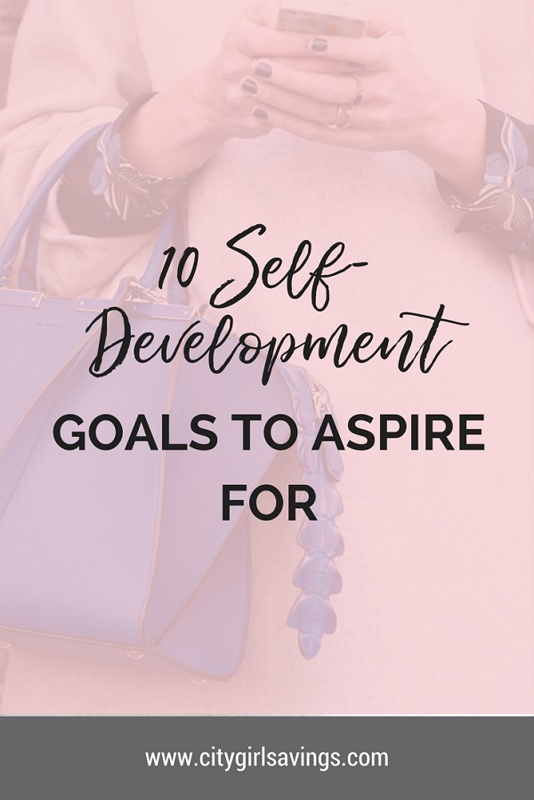self development goals to aspire for