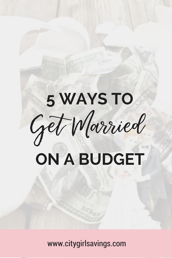 married on a budget