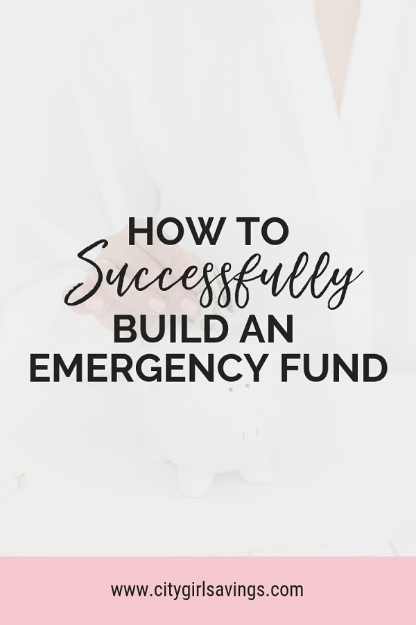 build an emergency fund