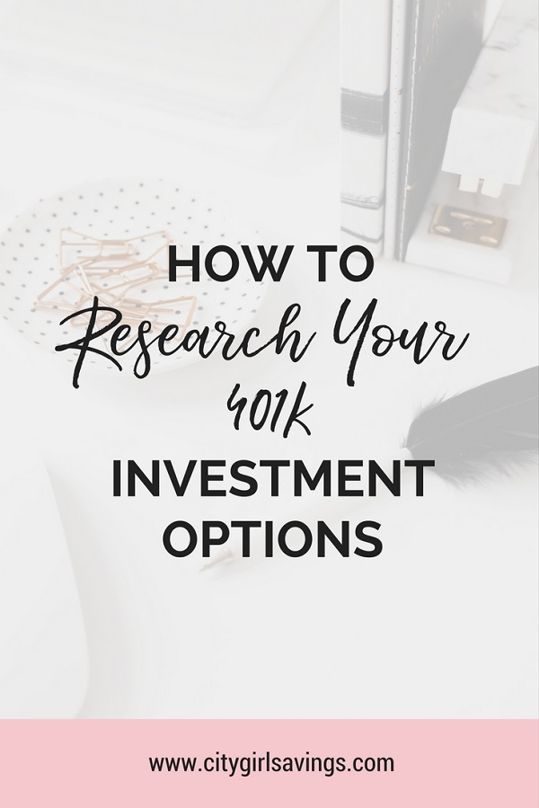 how to understand 401k investments