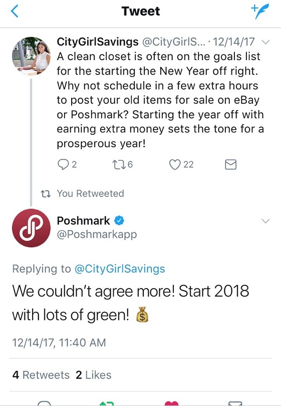 using poshmark to make a profit