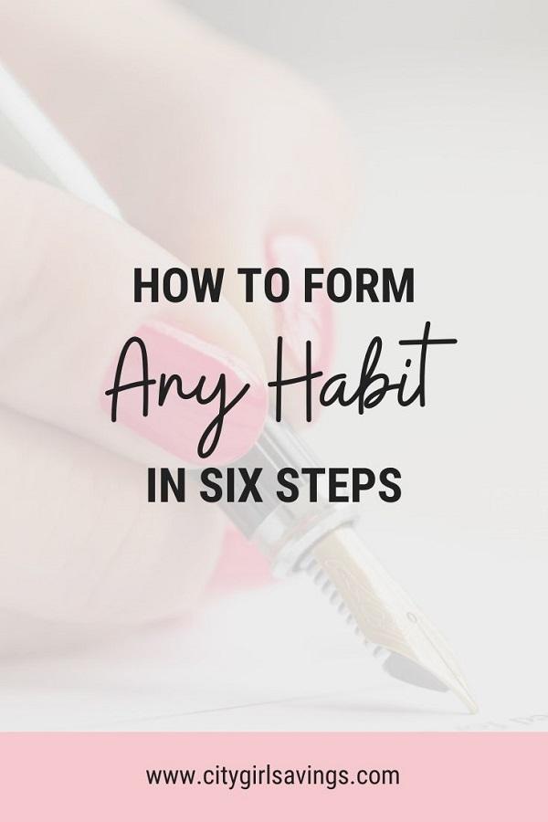 form any habit