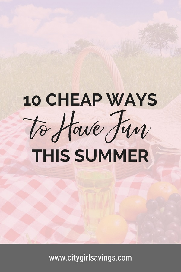 cheap ways to have fun