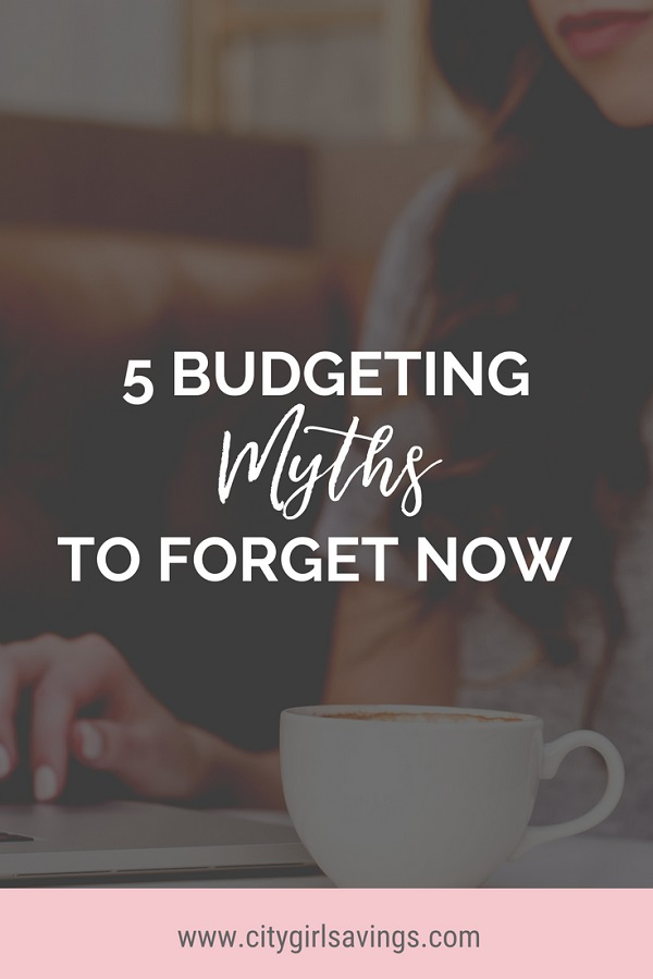 budgeting myths
