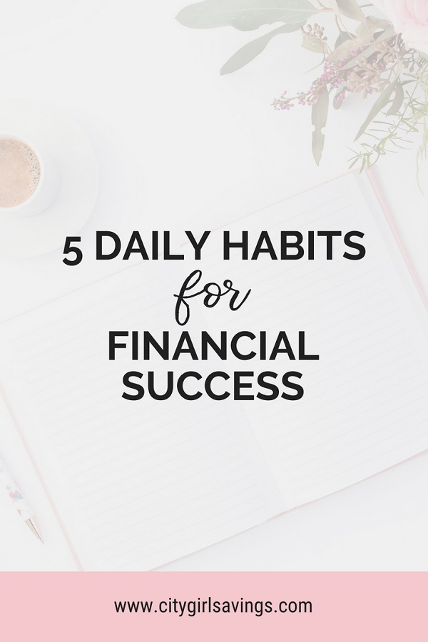 habits for financial success
