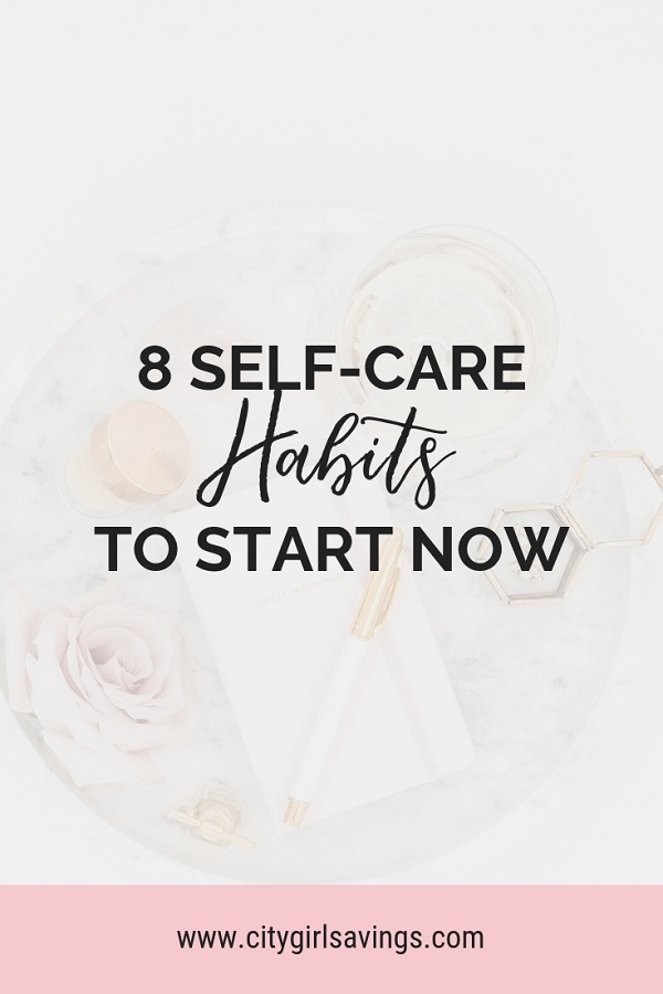 simple self care habits