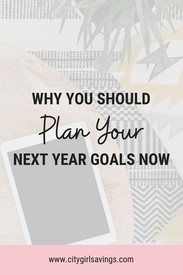 plan next year's goals