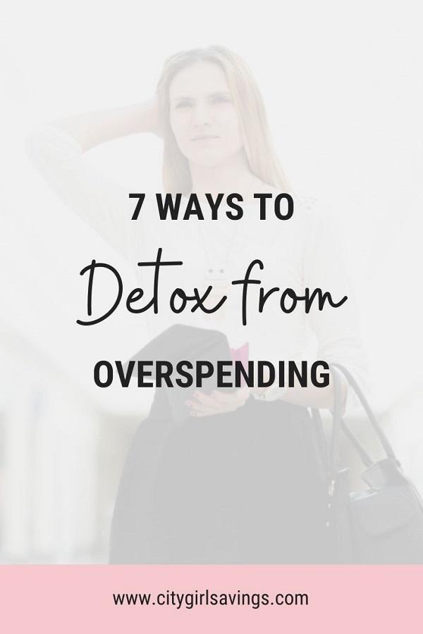 detox from overspending