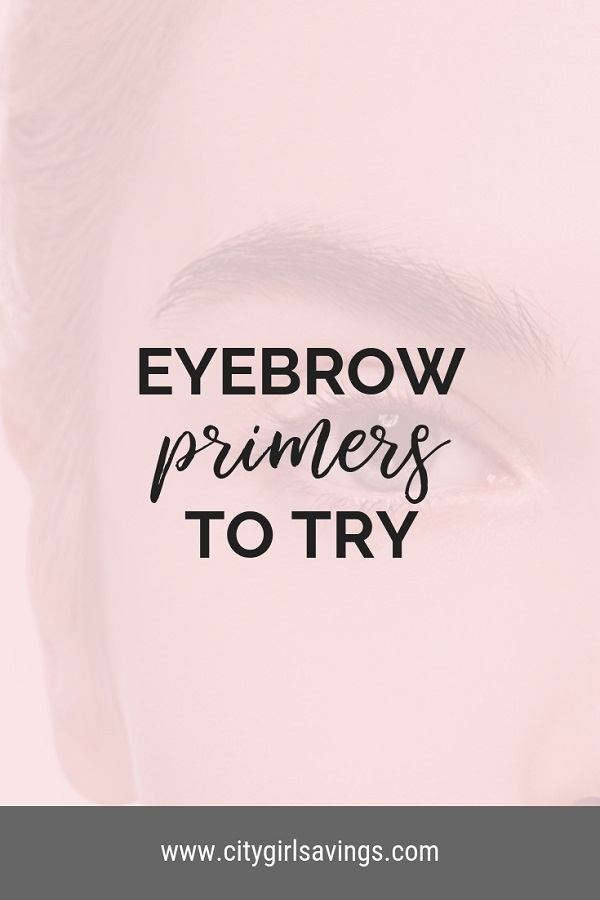 eyebrow primers