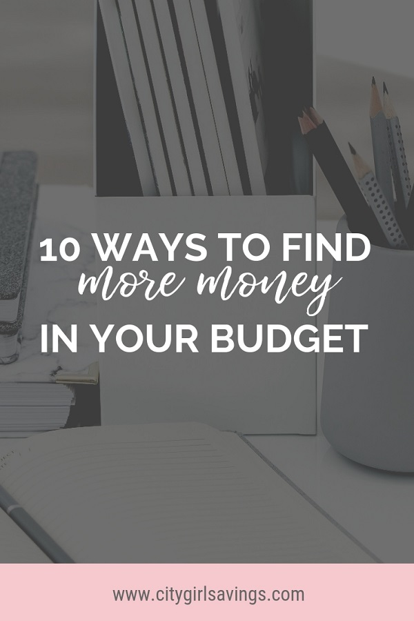 find more money in your budget