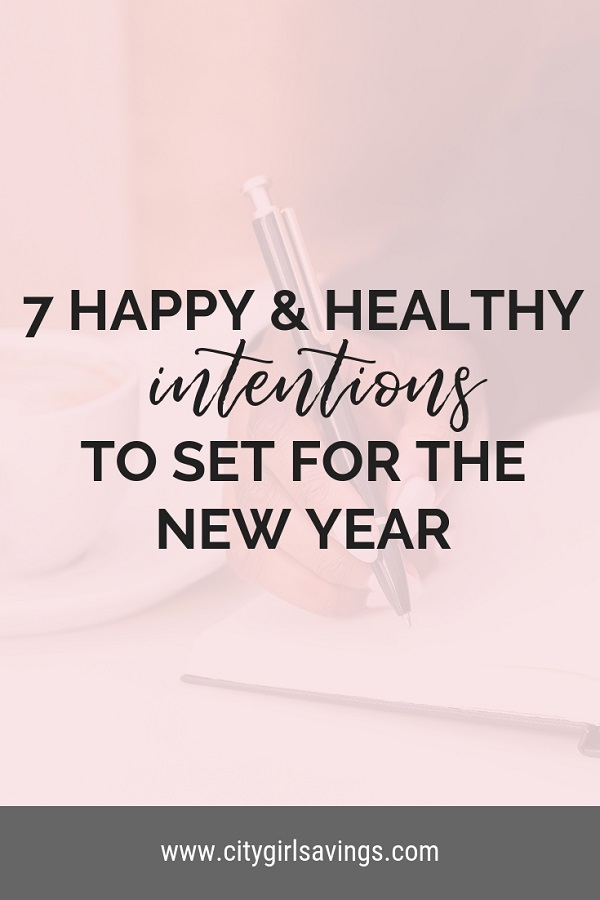 happy and healthy intentions