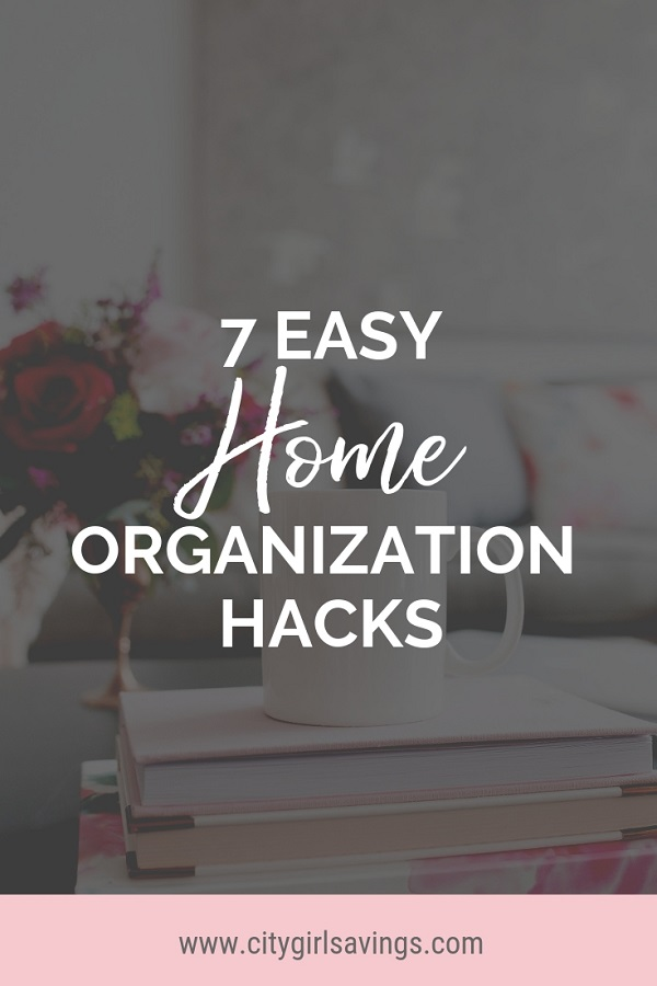 easy home organization hacks