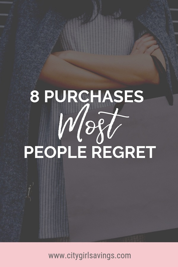 purchases people regret