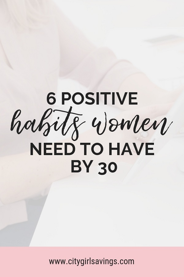 positive habits women need