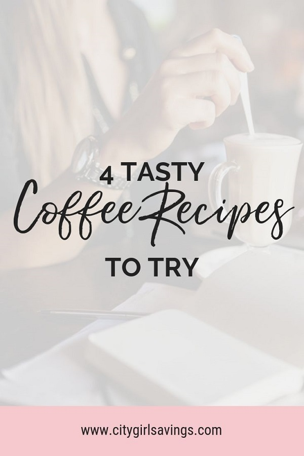 tasty coffee recipes