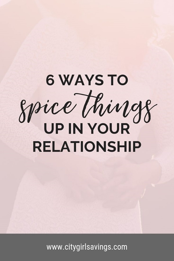spice things up in your relationship