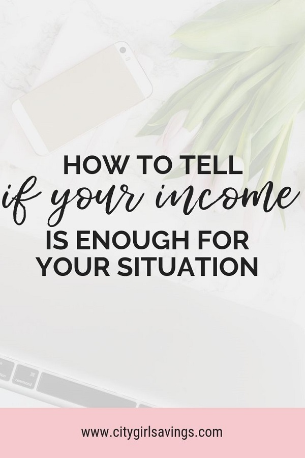 income is enough
