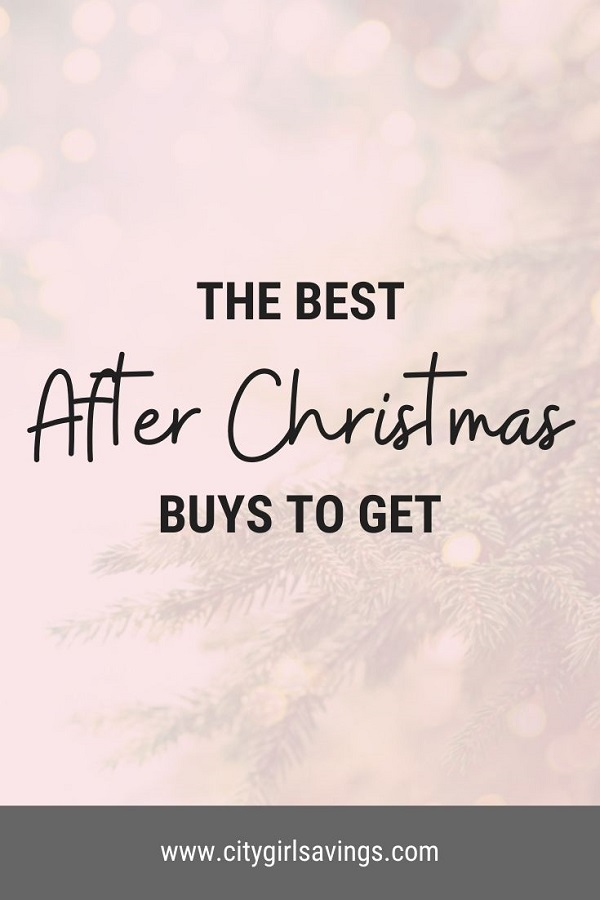 The Best After Christmas Buys to Get