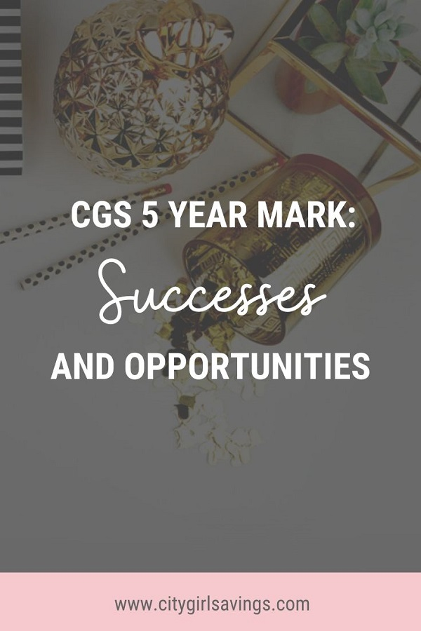 CGS 5 Year Mark