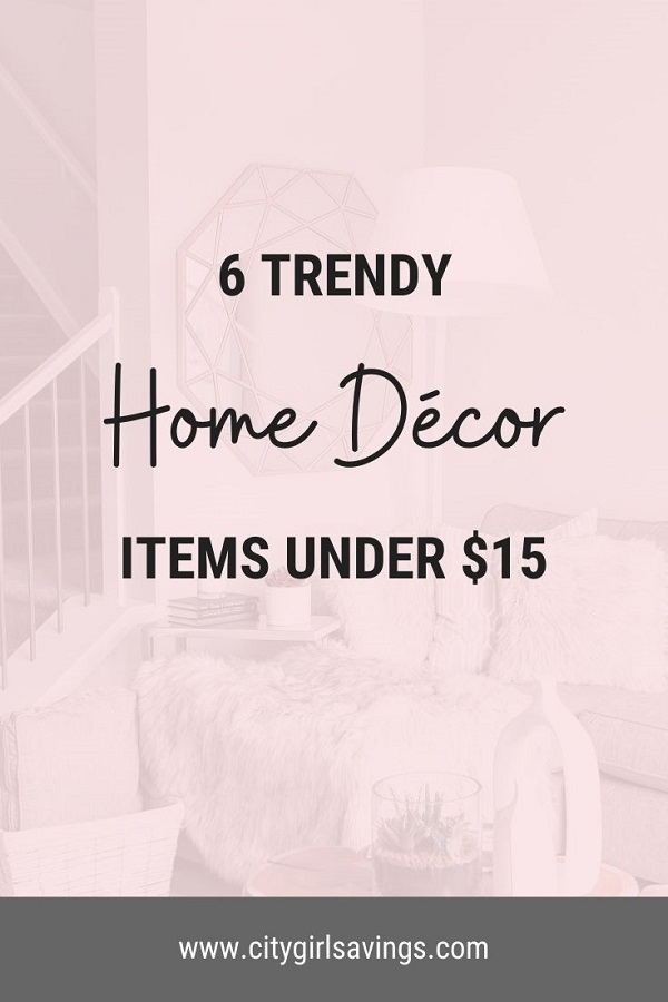 trendy home decor items
