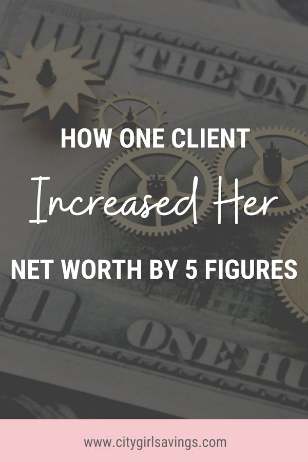 net worth by 5 figures