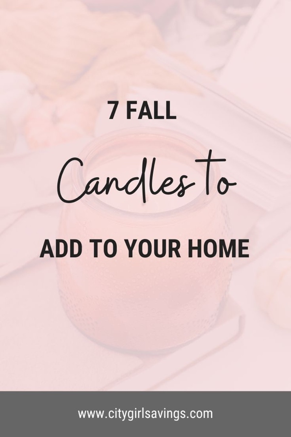 7 Fall Candles to Add to Your Home